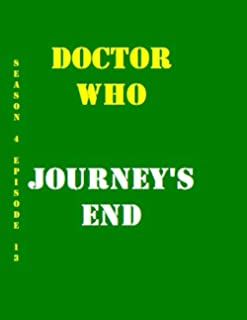 Doctor Who Journey's End Quotes Library Decorative Birthday Gift ( 110 Page Big Size ) Notebook Collection A decorative bo...