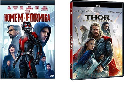 DVD Thor - O Mundo Sombrio + DVD Homem - Formiga