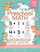 Cover image of Preschool Math Workbook for Toddlers by Modern Kid Press