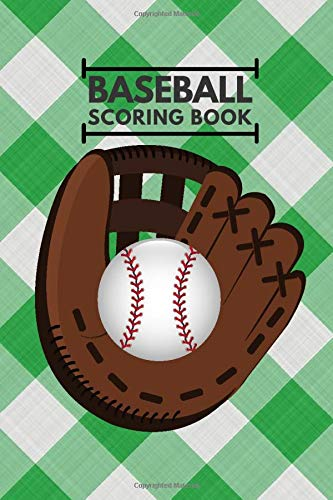 Baseball Scoring Book: Baseball Score Sheets, Baseball Score Pads, Scorekeeping Book, Scorecards, Record Scorekeeper Book Gifts for Baseball Team, ... with 110 Pages. (Baseball Scorebook, Band 29)