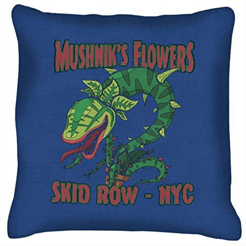 Mushniks Flowers Skid Row NYC Little Shop of Horrors Cushion