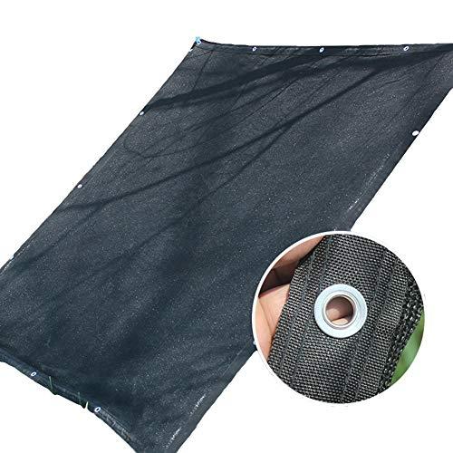 schaduwnet BWZF Outdoor Sun Shelter, Sunblock UV-beschermdoek, 75% zonnig mesh net, plantendeken, Pet Shade Cover 2 m 3 m 4 m 5 m 6 m 8 m breed