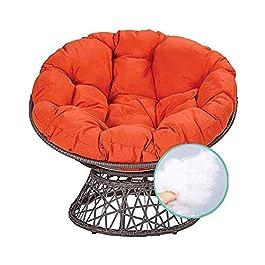 Papasan Coussin de chaise imperméable pour fauteuil pivotant, sans chaise, coussin de sol pour chaise longue Papasan 40…