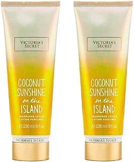 Victoria's Secret Fragrance Lotion Coconut Sunshine On The Island Bundle of 2