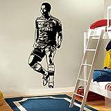Real Madrid FC Super star Eden Hazard Celebrando el jugador de fútbol Deportes de fútbol Etiqueta de la pared dormitorio sala de estar GIMNASIO Decoración del hogar Vinilo calcomanía mural póster