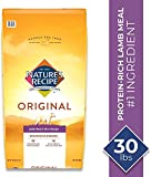 Nature's Recipe Dry Dog Food for Adult Dogs, Lamb Meal & Rice Recipe, 30 Pounds