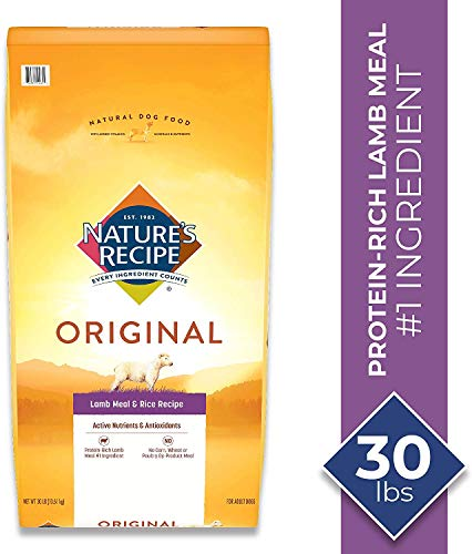 Nature's Recipe Lamb Meal & Rice Recipe Dry Dog Food for Adult Dogs