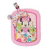Disney Baby, Minnie Maus Spieldecke mit abnehmbaren Stützkissen, zwei Spielzeugen, maschinenwaschbare Matte