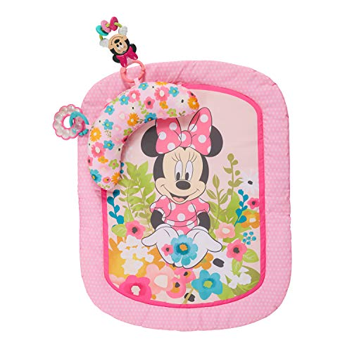 Bright Starts, Disney Baby Tapis de Jeu Minnie Garden Party
