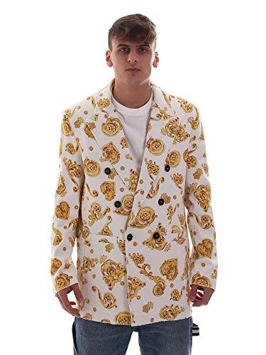 Versace Jeans C3GVB500SN703003 Mantel Man White M