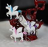 Sunshier Los Colores Son Vibrantes Precioso Llavero de Unicornio con Regalos creativos de...