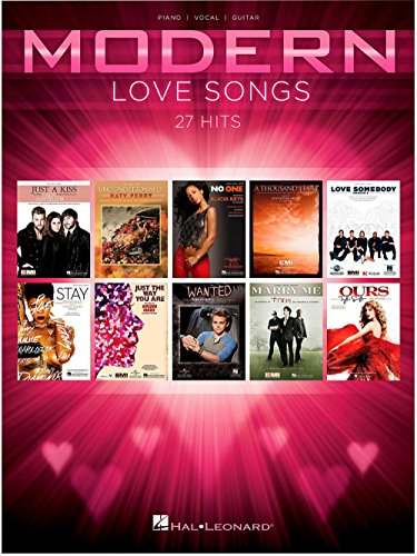 Hal Leonard Modern Love Songs for Piano/Vocal/Guitar