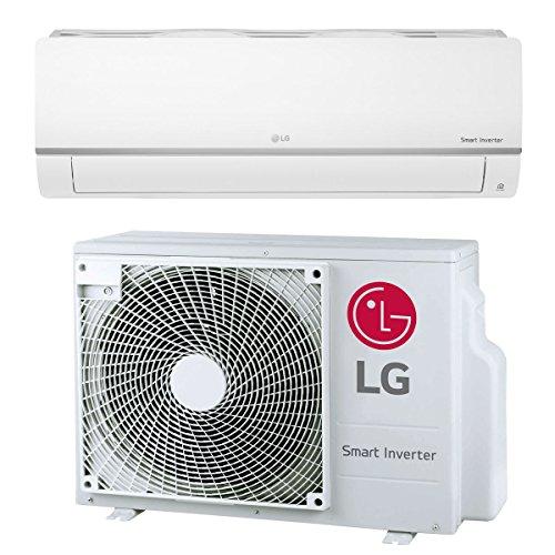 Split Klimaanlage Inverter Klimagerät mit Wärmepumpe Energieklasse A++ / A+ 24000 BTU 6.6 kW 90m2 Splitgerät LG Standard Plus