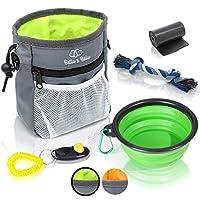 amazy Doublure sac pour chien-Friandises Sac pratique avec intégré chien Distributeur de Sacs à pour un entraînement optimal chien et Promenades