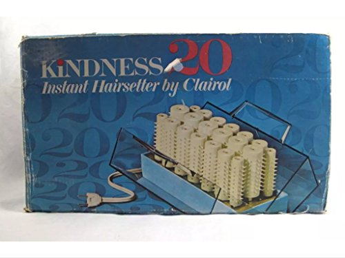 Clairol Kindness 20 Instant Hairsetter Hot Rollers Curlers Set Pageant #761