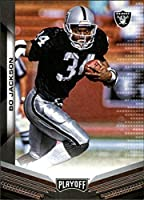 2019 Playoff Football #96 Bo Jackson Los Angeles Raiders Official Panini NFL Trading Card
