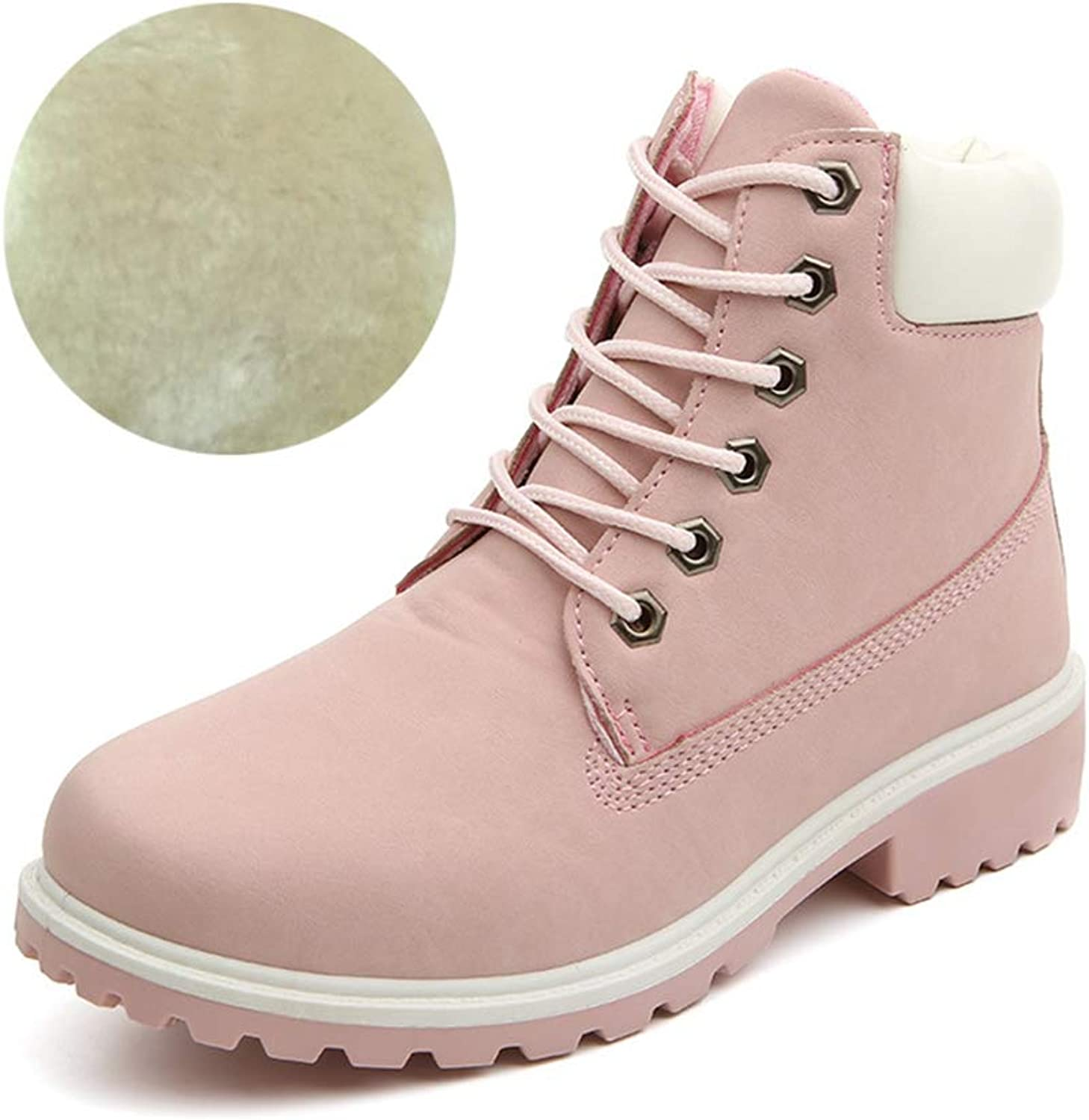 Women's Warm Ankle Boots Comfortable Platform Winter Boots Rubber Non-Slip Lady Boots
