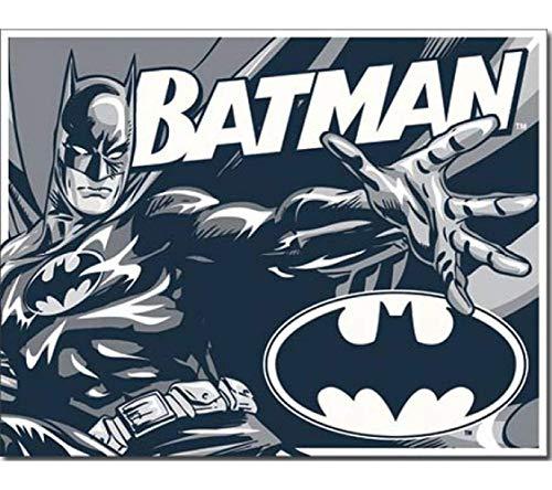 Poster Revolution Batman Duotone, Vintage, Retro, Latta.
