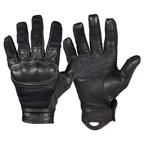 Magpul Core Breach Tactical Leather Gloves, Black, Medium