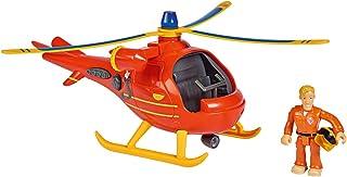 Simba 109251077 Brandweerman Sam helikopter Wallaby met figuur