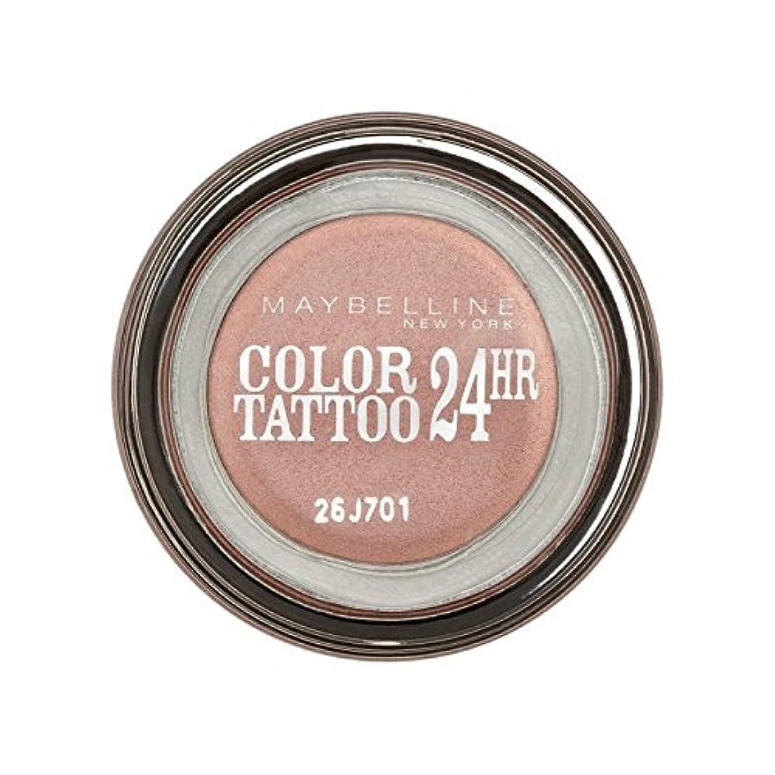 悪質な無駄区メイベリンカラータトゥー24時間アイシャドウ65ピンクゴールド x4 - Maybelline Color Tattoo 24Hr Eyeshadow 65 Pink Gold (Pack of 4) [並行輸入品]