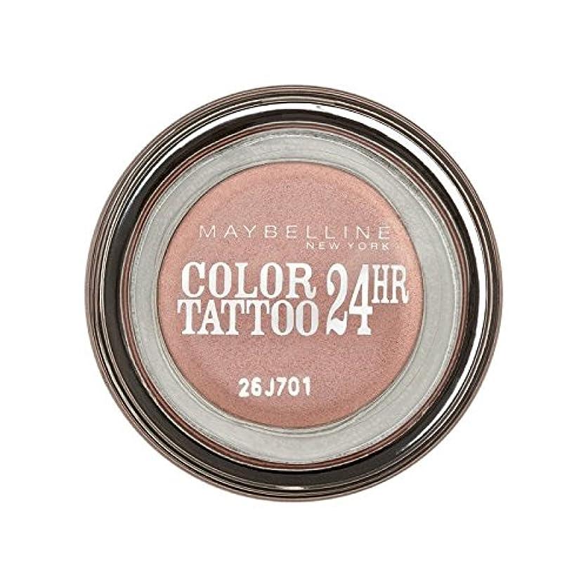 電話縁石ビンMaybelline Color Tattoo 24Hr Eyeshadow 65 Pink Gold - メイベリンカラータトゥー24時間アイシャドウ65ピンクゴールド [並行輸入品]