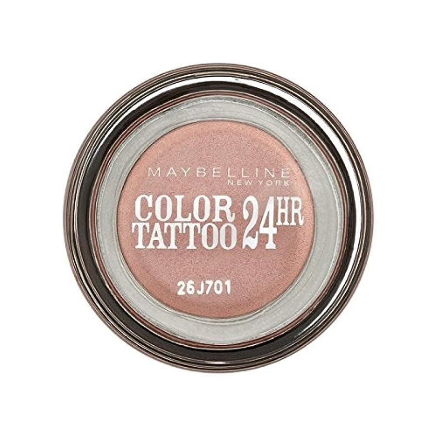 厄介なシャークスムーズにメイベリンカラータトゥー24時間アイシャドウ65ピンクゴールド x2 - Maybelline Color Tattoo 24Hr Eyeshadow 65 Pink Gold (Pack of 2) [並行輸入品]