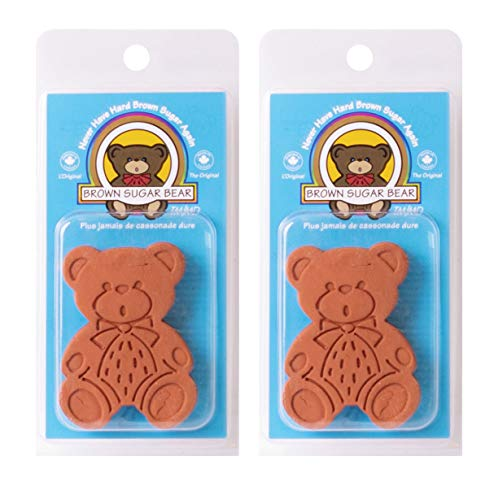 Brown Sugar Bear Harold Import Co Softener, Set of 2