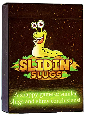 Slidin' Slugs - Card Game for Kids & Families. Match Four of a Kind or Get Slimed! Don't be...