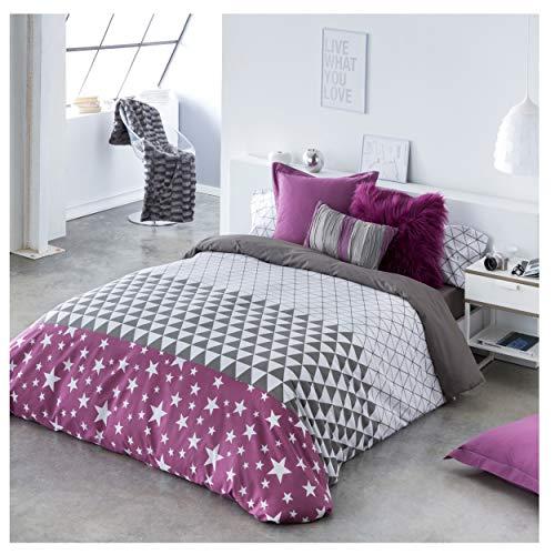 Cotton Artean Bettbezug Dreieck Bett...
