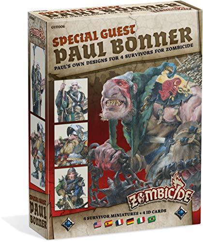 Zombicide Special Guest Paul Bonner, 4 sobreviventes