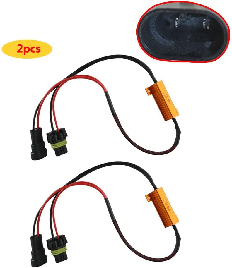 FLYPIG 9005 Large special price !! LED DRL Fog Light Resistor Load Wiri Canbus 6Ohm Free Shipping New 50W