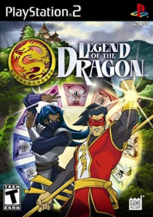 Legend of the Dragon Playstation 2 ISO