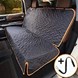 iBuddy Bench Car Seat Cover for Car/SUV/Truck, Waterproof Back Seat Cover for Kids Without Smell, Heavy Duty and Nonslip Pet Truck Seat Cover for Dogs, Machine Washable