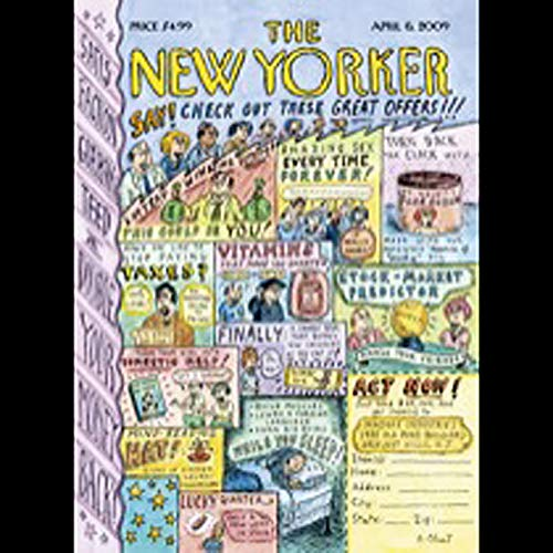 The New Yorker, April 6th, 2009 (Tad Friend, Seymour Hersh, James Surowiecki) copertina