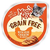 Meow Mix Grain Free Wet Cat Food, Chicken, 2.75 Ounce Cup (Pack of 12)