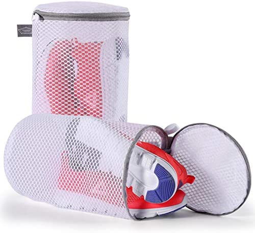 Kimmama Shoes Wash Bags Sneaker Mesh Washing Cleaning Bag 125gsm Net Fabric Durable and Reusable product image
