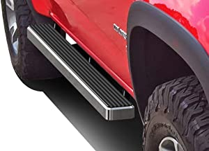 APS iBoard Running Boards 4 inches Custom Fit 2015-2020 Chevy Colorado GMC Canyon Crew Cab Pickup 4-Door (Nerf Bars Side Steps Side Bars)