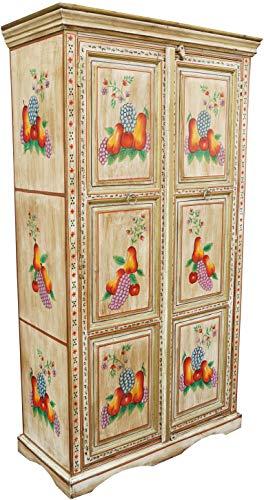 Guru-Shop Mueble Pintado, Armario, Madera, 180x100x45 cm,