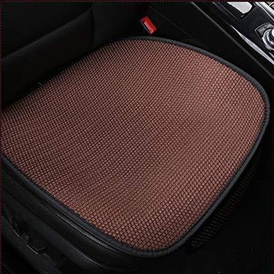 Cubiertas del asiento nuevo coche fresco y transpirable asiento delantero del automóvil Auto protector trasero de la cubierta del amortiguador de asiento cojín de la estera Accesorios for el verano