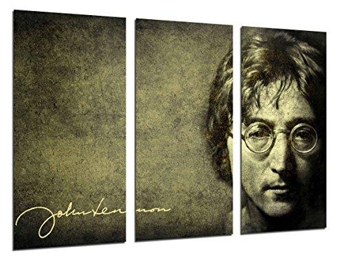 Cuadros Cámara Poster Fotográfico John Lennon, Los Beatles, Leyenda Musica, Multicolor, 97 x 62 cm XXL
