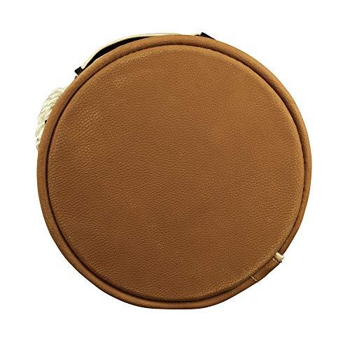 Klein Tools 5104VT Velcro Top Leather Bottom Bucket, 17-Inch