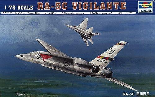 gran descuento Trumpeter 1 1 1 72 RA5C Vigilante Aircraft by Trumpeter  calidad auténtica