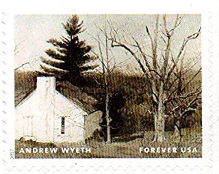 USA Postage Stamp Single 2017 Andrew Wyeth Painting Issue Forever (49 Cent) Scott #5212L