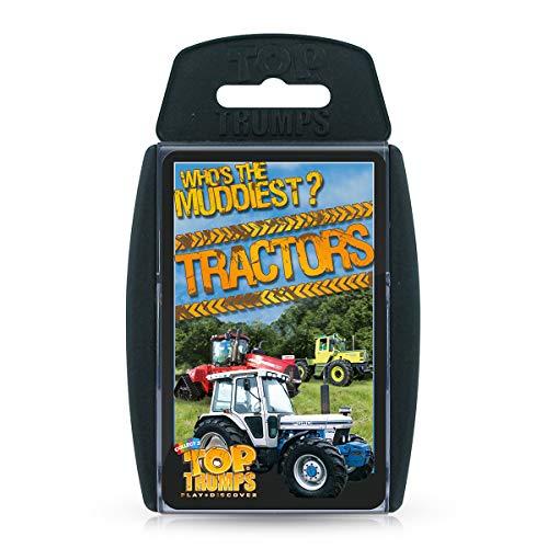 Top 30 Tractors Top Trumps Juego de Cartas