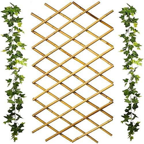 Celosia Madera Bambú Extensible 180 x 60 | Valla De
