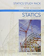 Statics Study Pack -- for Engineering Mechanics: Statics, Engineering Mechanics: Statics 14th edition by Hibbeler, Russell C. (2015) Paperback