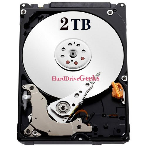 "2TB 2.5"" Laptop Hard Drive for Dell Inspiron 1721 6400 9400 E1505 E1705 N5110 N7010 N7110"
