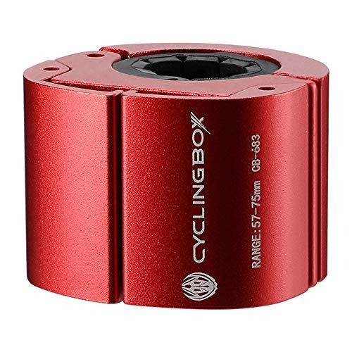 TOPmountain Soporte universal para teléfono móvil para bicicleta, giratorio 360°, aleación de aluminio, universal