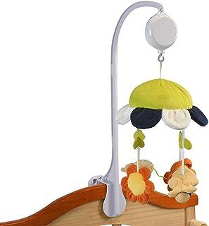 Rattles Bracket Music Box Holder Nursery Mobiles, Arm Bracket, Hanging Arm Bracket Ages 0 and Older for Babies(White)